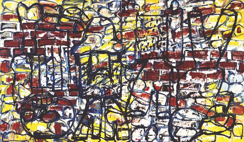 Harry Visser | 1945-2 1984 | olieverf | 100 x 150 cm
