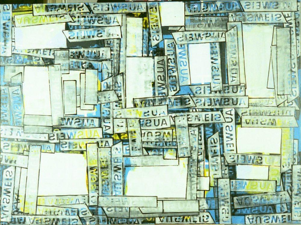 Harry Visser | Witte vlakken | olieverf